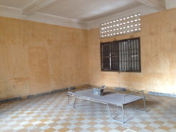 One of the many converted classrooms used for prisoner torture.