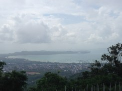 The gorgeous Chalong Bay view from Big Buddha.