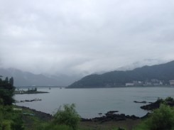 But the views of Lake Kawaguchiko were stunning.