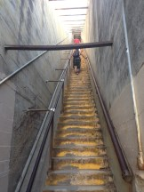 ...followed by about 200 stairs.