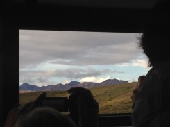 The best shot I could get of the famous mount in the distance.