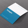 "BUSINESS CARDS FOLD-OVER MATT or UV 14pt coated paper 4"" x 3.5"""