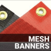 BANNER  OUTDOOR  8oz Mesh  Matt