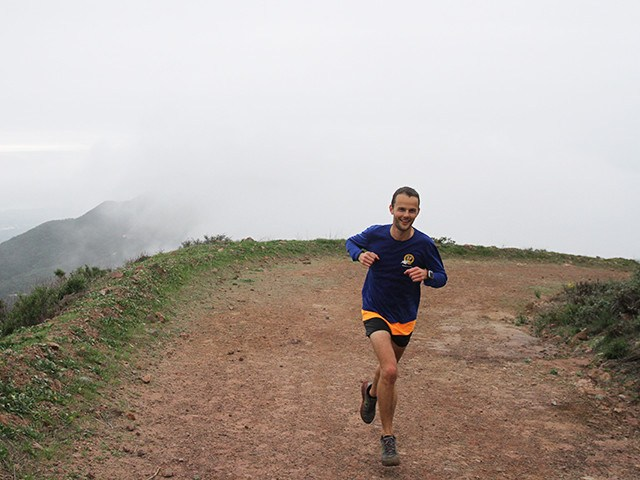 Trail running in the Santa Monica Mountains, Floris Gierman Extramilest