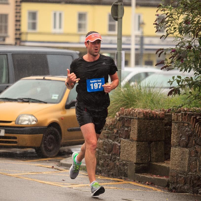 michael ovens running a marathon