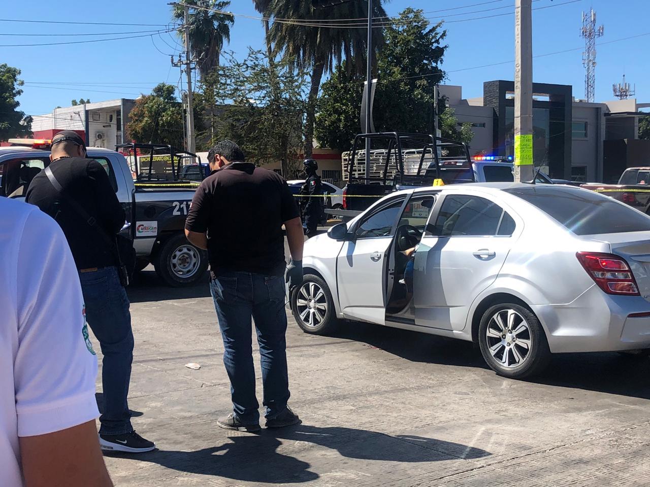 Asesinan a un hombre cerca de las instalaciones de la Policía Municipal de Culiacán