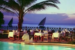 Dinner at Zanzibar Serena Inn