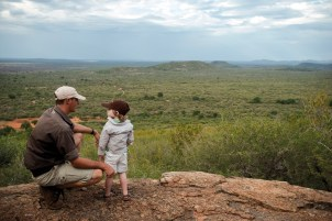 Family safari in South Africa