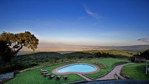 Safari at the Ngorongoro Sopa