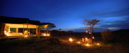 Dusk at Kicheche Valley Camp