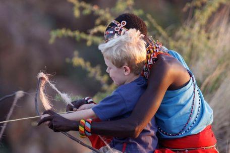 Children at Sasaab
