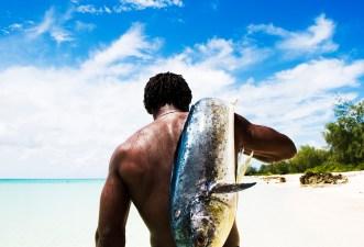 Fishing at Vamizi Island