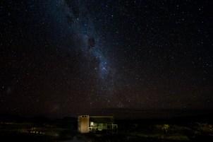Stargazing from Kulala Desert Lodge