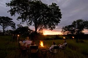 Africa; Zambia; Sanctuary Puku Ridge Camp; Bush Sundowners