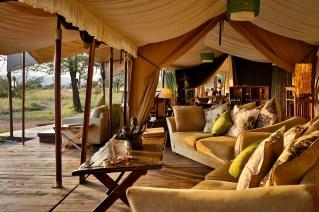 Mess tent at Lemala Ewanjan