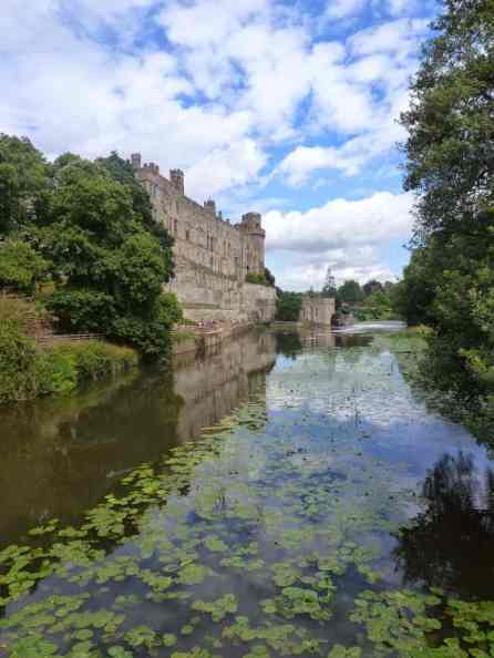Warwick Castle, The Beauty of the Castle Grounds.