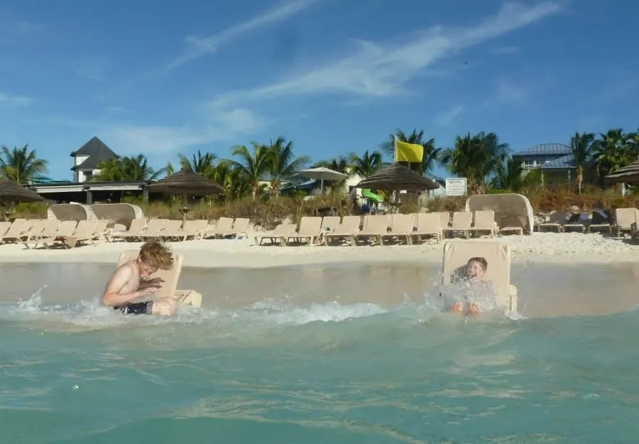Why The Boys Are Desperate To Revisit Beaches Turks & Caicos