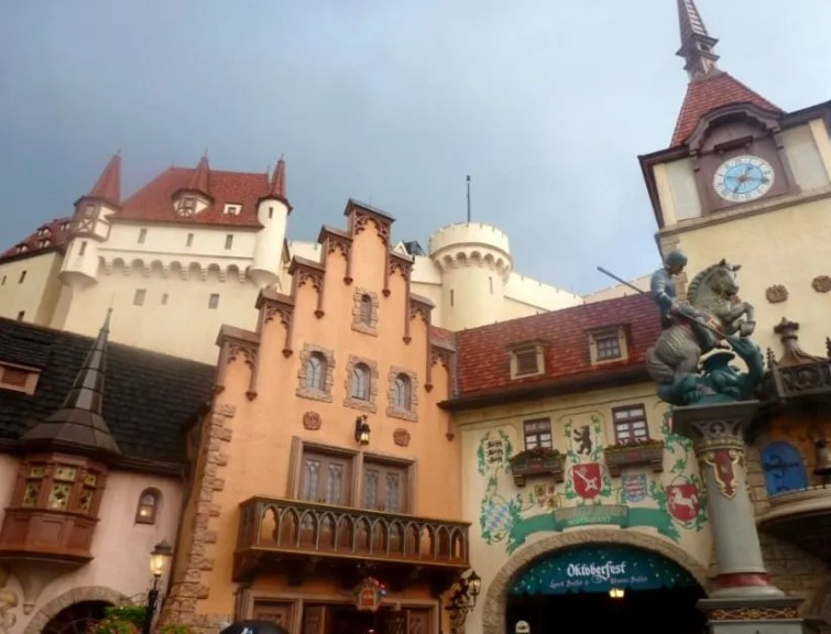 Visiting Germany in the around the world showcase at Epcot www.extraordinarychaos.com