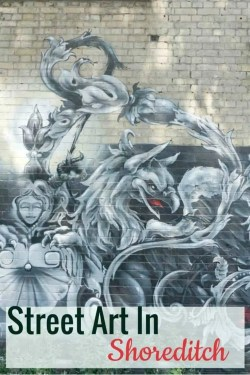 Street Art In Shoreditch London