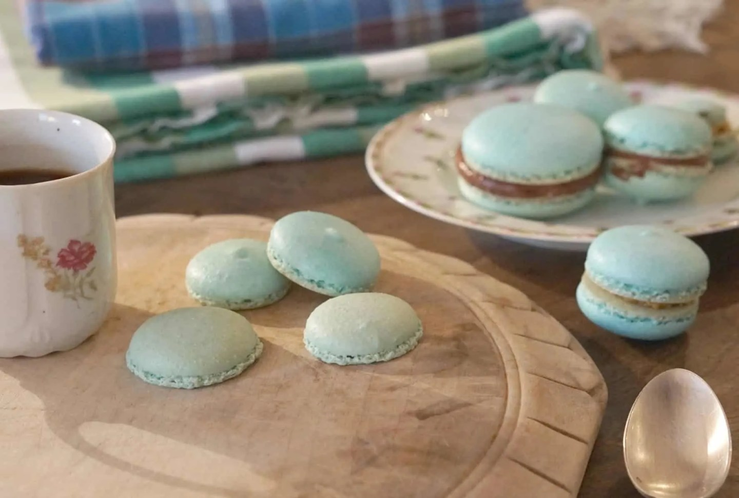 Making Macarons With Noemi at the Jeanne D'Arc Cookery School