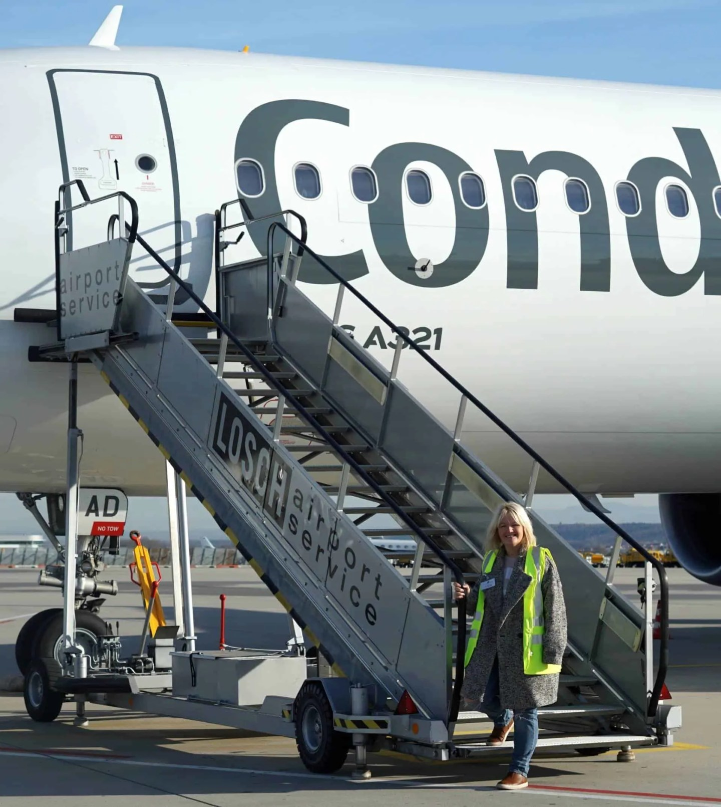 Behind The Scenes At Stuttgart Airport, Germany