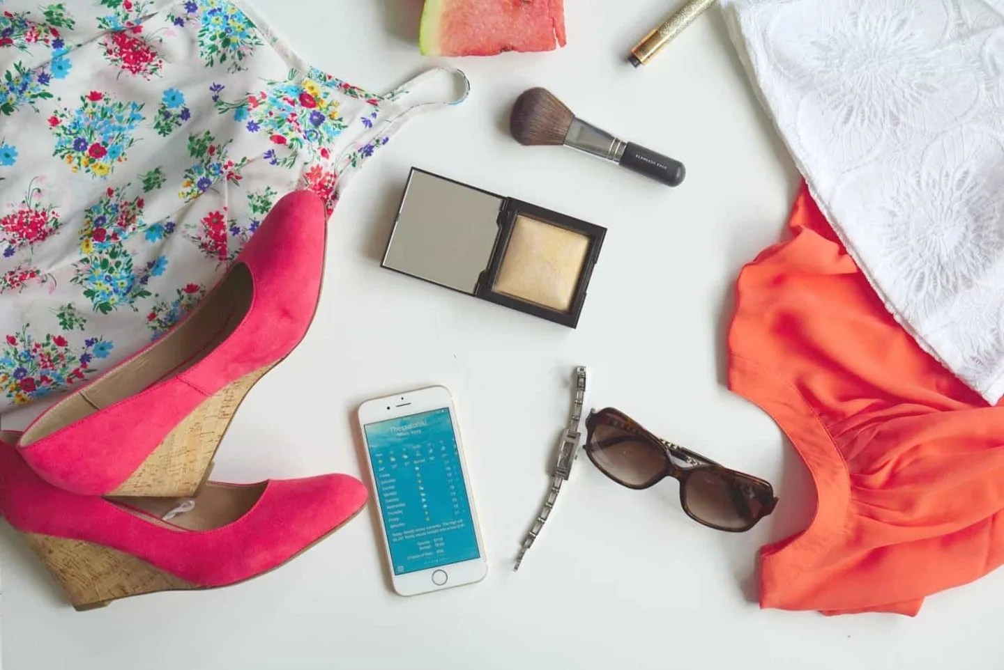 Summer Style And Thinking Bright a