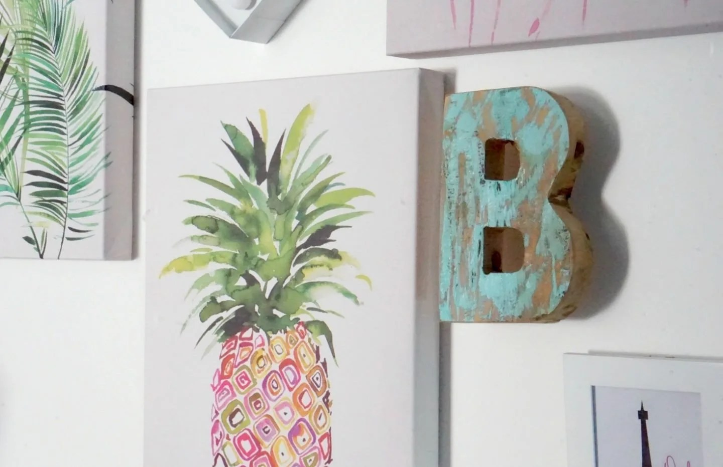 Adding An Art Wall And A Little Colour With Wayfair