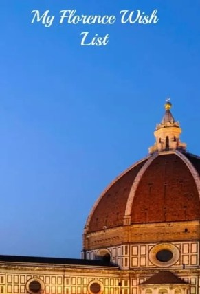My Florence Wish List And Why Everybody Should Visit Italy At Least Once, and my Florence Wish List with and without kids