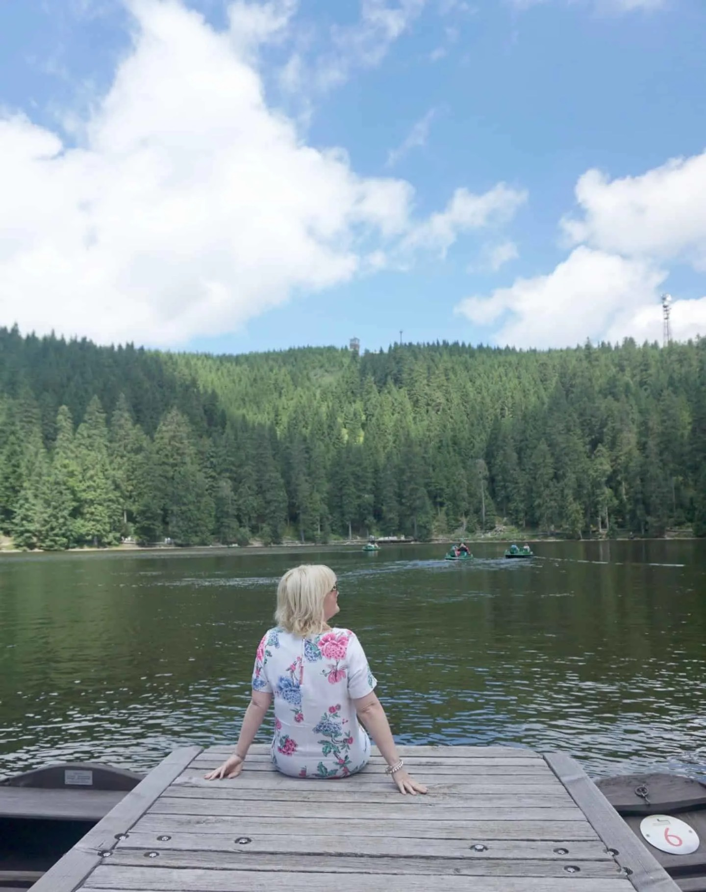 view of a reservoir at the Black Forest Germany www.extraordinarychaos.com