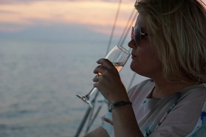 The Sunset Cruise At Sani Resort and Next Summer Dress www.extraordinarychaos.com