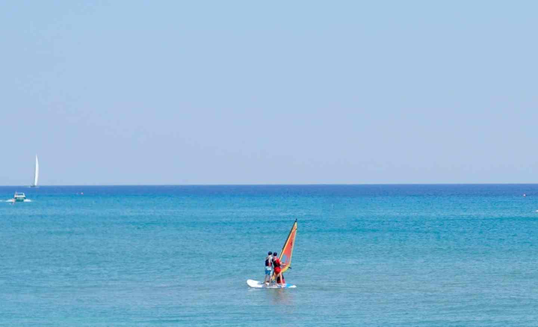 Learning To windsurf at Mark Warner Lakitira www.extraordinarychaos.com