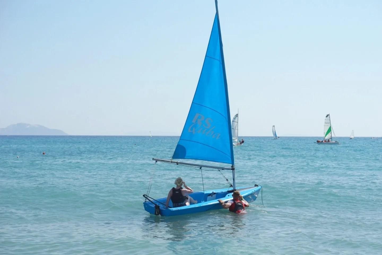 Mark Warner Mum Sailing At Lakitira www.extraordianrychaos.com