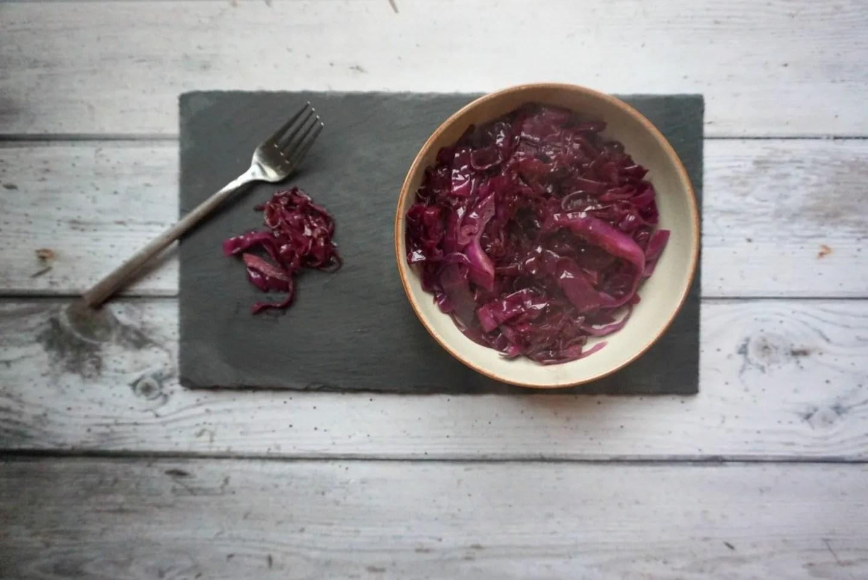 red cabbage recipe www.extraordinarychaos.com