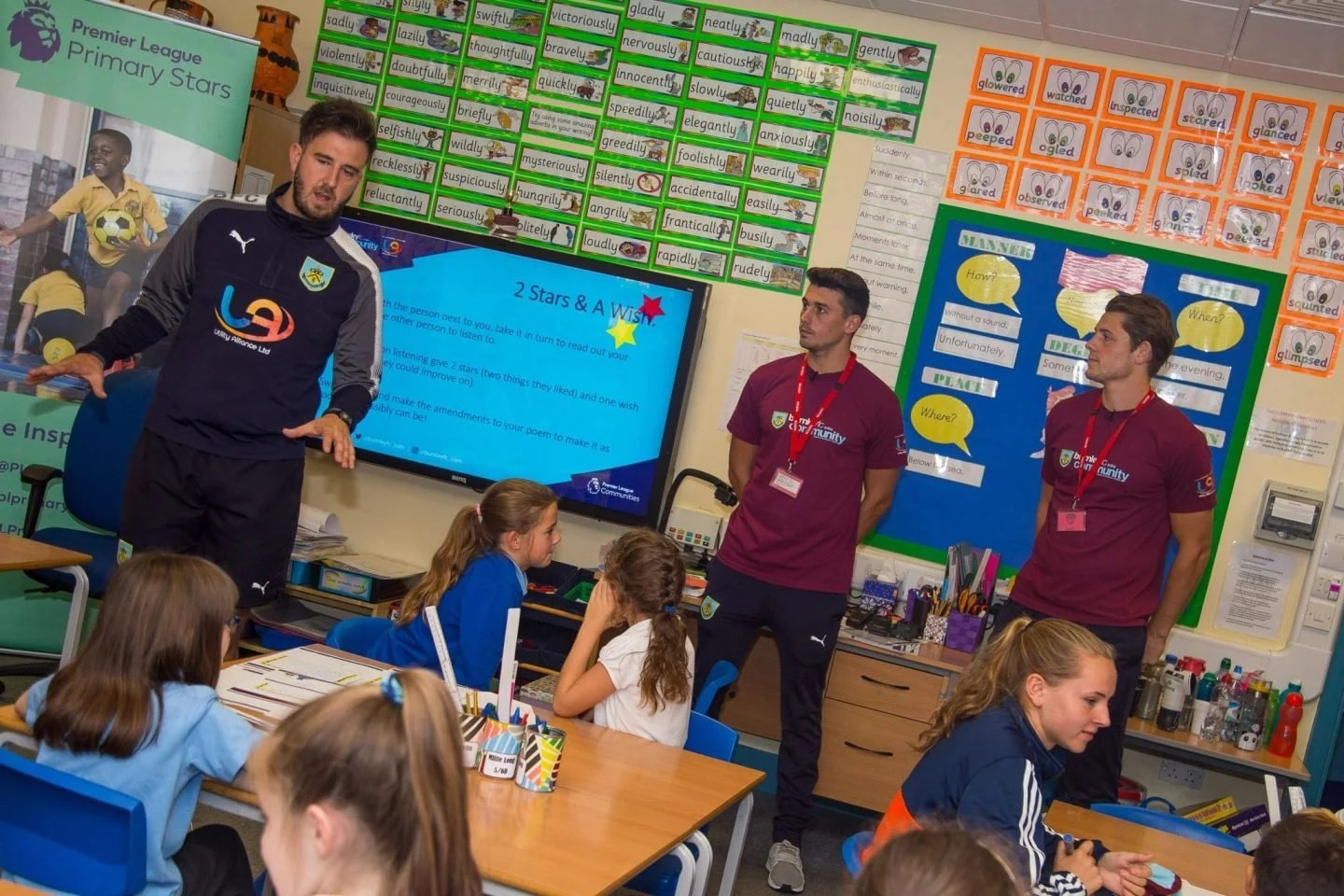Tarkowski & Lowton -Premier League Writing Stars, A Poetry Competition for Children www.extraordinarychaos.com