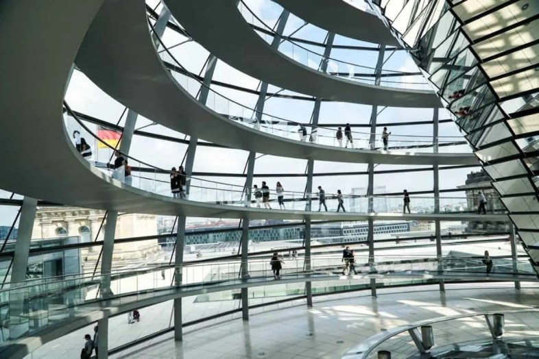Visiting The Reichstag in Berlin