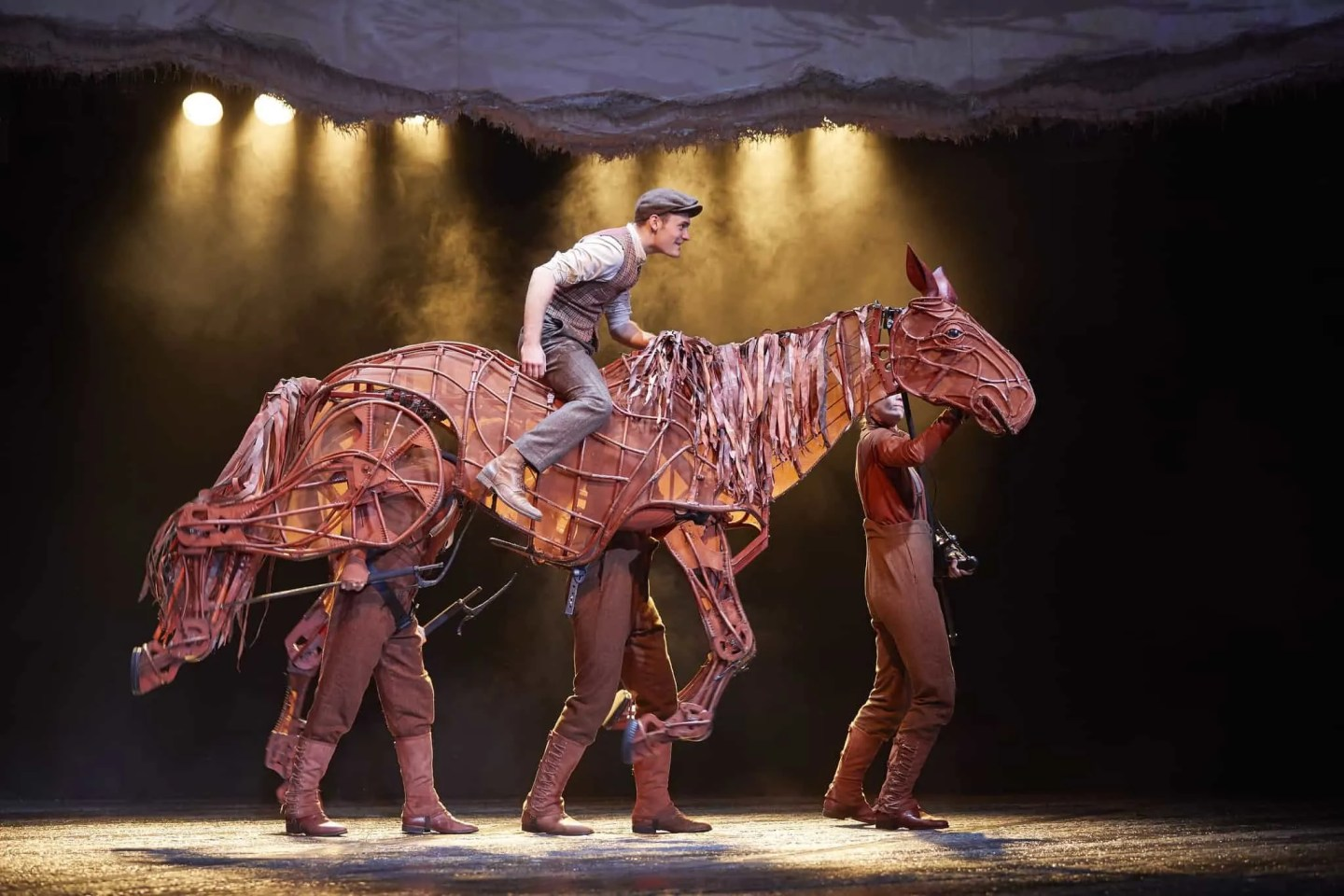 Review of the war horse at the Lowry
