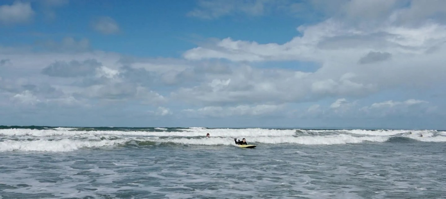 Booking a family surf lesson with Gower Activity Centre www.extraordinarychaos.com