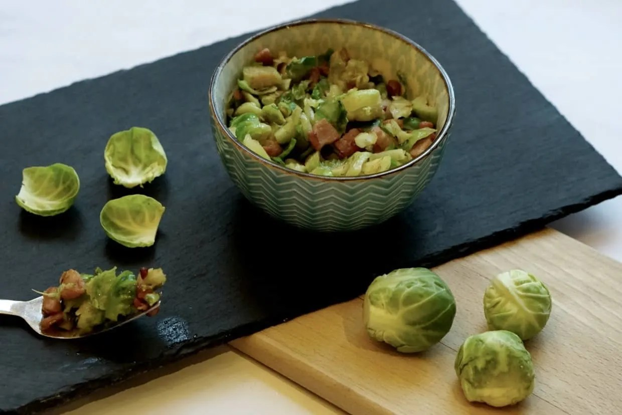 Brussel Sprouts With Bacon Recipe Recipe www.extraordinarychaos.com