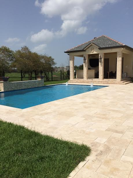 Travertine Pavers Kenner, La