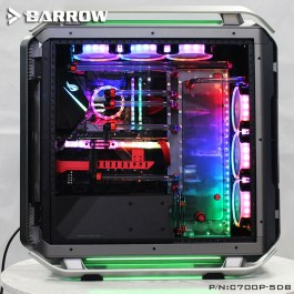 LRC2.0 version water channel integrated board for Cooler Master C700P case No Color