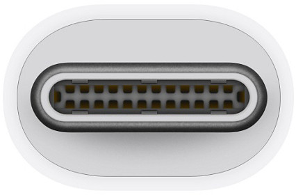 Apple adapter Thunderbolt 3 – Thunderbolt 2