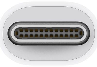 Apple adapter Thunderbolt 3 – Thunderbolt 2