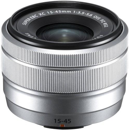 Fujinon XC 15-45mm f/3.5-5.6 OIS PZ objektiiv, hõbedane