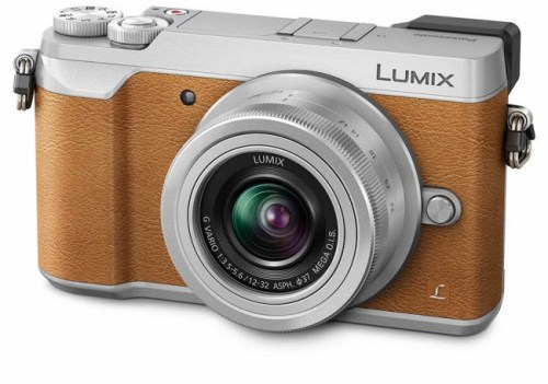 Panasonic Lumix DMC-GX80 + 12-32mm Kit, pruun