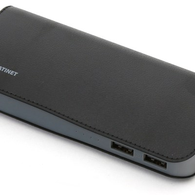 Platinet akupank Leather 15000mAh, must (43674)