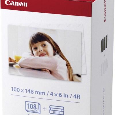 Canon fotopaber + tindikassett KP-108IN 10x15cm 108 lehte