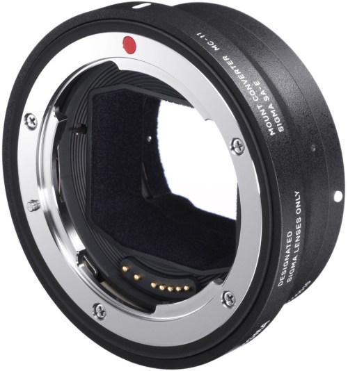 Sigma adapter MC-11 Canon EF – Sony E