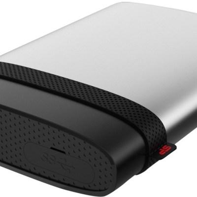 Silicon Power Armor A85 2TB, hõbedane