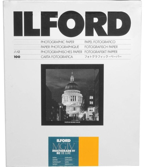 Ilford paber 17,8x24cm MGIV 25M satiin 100 lehte (1772036)