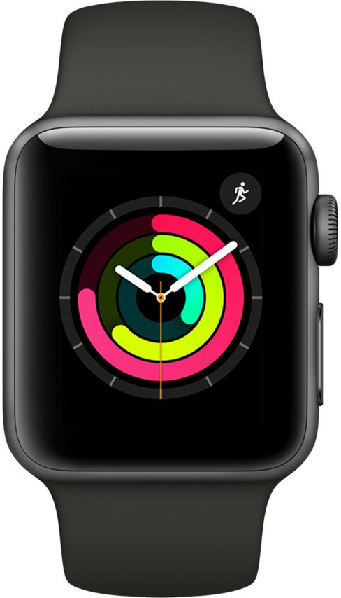 Apple Watch 3 GPS 42mm Sport Band, space grey